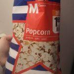 Popcorn salés