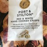 Port and Stilton Red and White hand cooked crisps