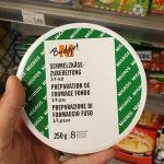 Préparation de fromage fondu