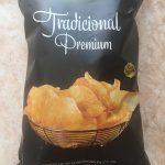 Premium tradicional patatas fritas elaboradas sartén sin gluten