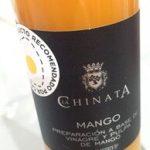 Preparación a base de vinagre y pulpa de mango
