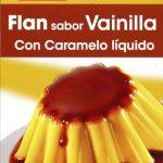 Preparado para flan sabor vainilla