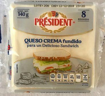 President Queso crema fundido