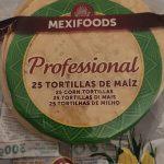 Professional 25 tortillas de maiz