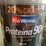 Proteína en polvo 90%  Sabor Chocolate