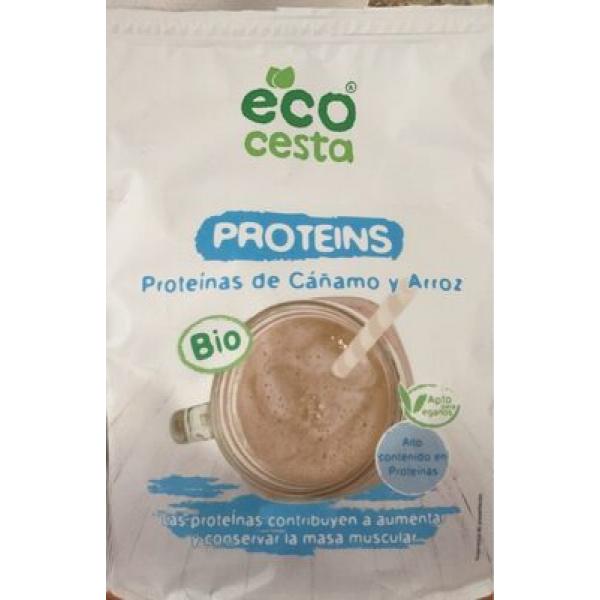 Proteins proteinas de cañamo y arroz