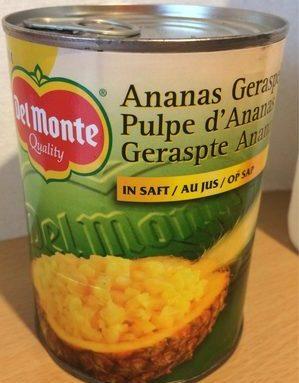 Pulpe d'Ananas