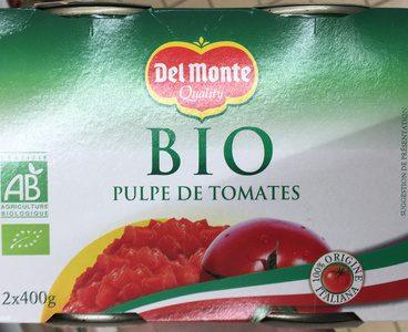 Pulpe de tomates bio