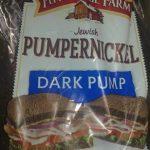 Pumpernickel jewich