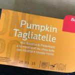 Pumpkin Tagliatelle