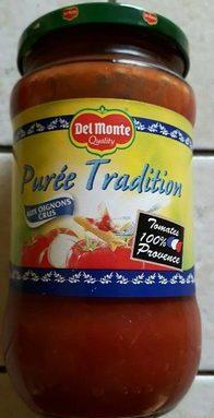 Purée tomates tradition aux oignons crus