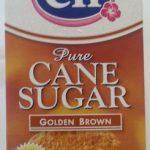 Pure Cane Sugar Golden Brown
