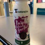 Purple protein smoothie