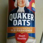 Quaker Oats 100% Natural Whole Grain OLD FASHIONED