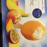 Qualié & prix - Mini exotic ice - Glace comestible au goût de crème et sorbet aux fruits exotiques