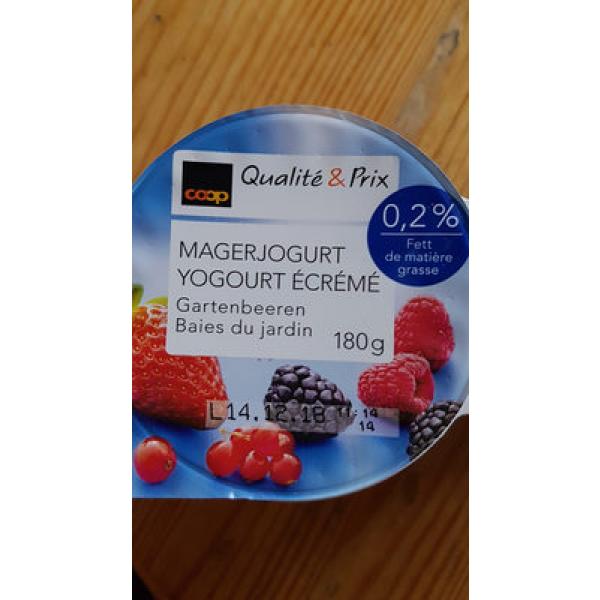 Qualité & Prix Yaourt ÉCRÉMÉ Baies du Jardin