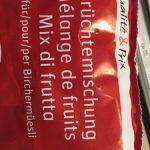 Qualité&Prix : Früchtemischung für Birchenmüesli