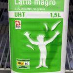 Qualité&Prix : Lait écrémé : 0.1% de matière grasse
