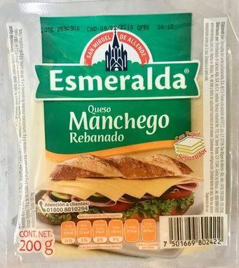 Queso Manchego Rebanado Esmeralda