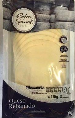 Queso Mozzarella Rebanado Extra Special