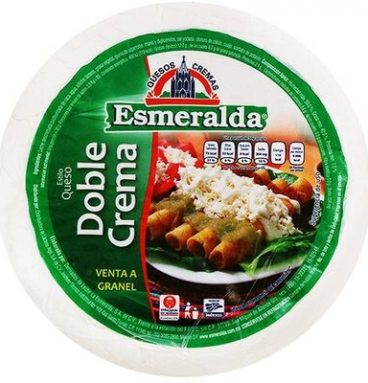 Queso doble crema Esmeralda por kg