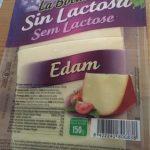 Queso edam lonchas sin gluten sin lactosa