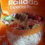 Queso rallado especial pasta
