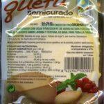 Queso vegetal semicurado