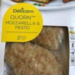 Quorn mozzarella et pesto