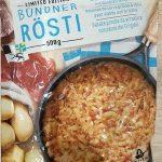 Rösti avec viande des Grisons