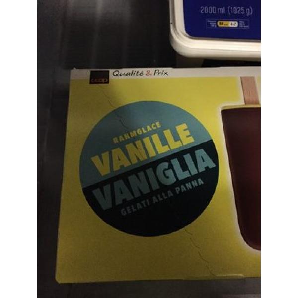 Rahmglace Vanille