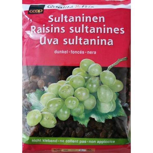 Raisins sultanines