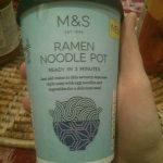 Ramen noodle pot