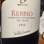 Rebbio vin rouge bio