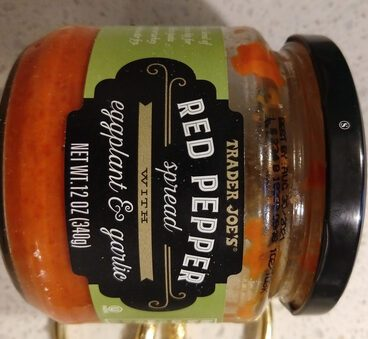 Red Pepper Spread With Eggplant & Garlic