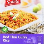 Red Thai Curry Rice