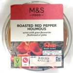 Red spicy pepper houmous