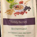 Reddy berries Birchermüesli