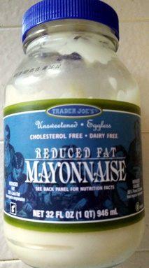 Reduced Fat Mayonnaise