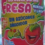 Refresco sin gas sabor fresa