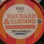 Rhubarb & Custard west country dairy ice cream