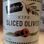 Ripe Sliced Olives