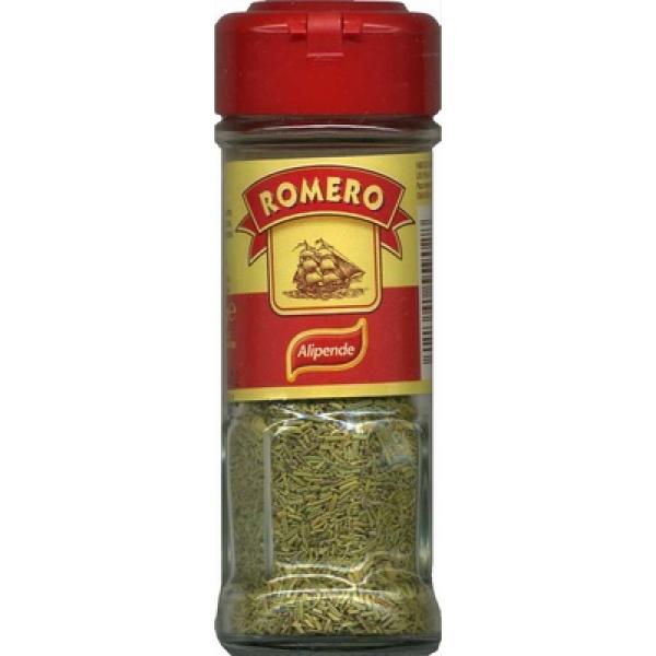Romero seco molido