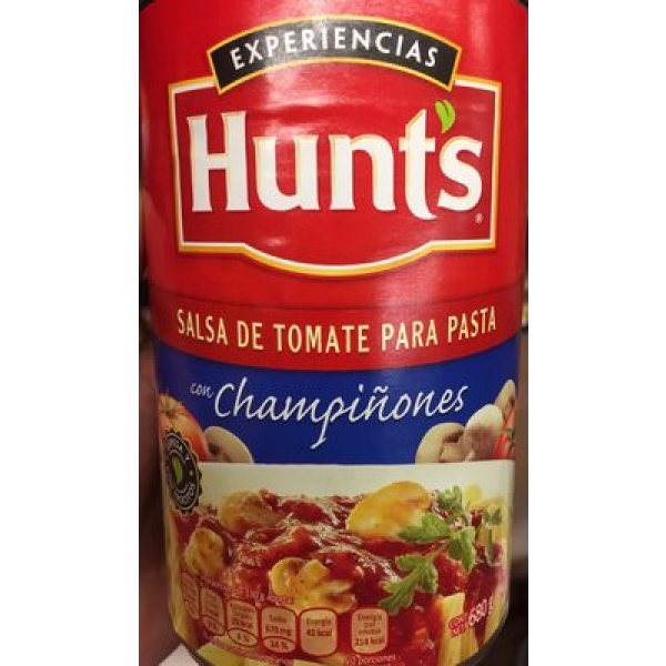 SALSA DE TOMATE CON CHAMPIÑONES