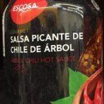 SALSA PICANTE DE CHILE DE ARBOL