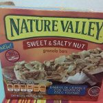 SWEET & SALT NUT Granola bars