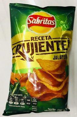 Sabritas receta crujiente sabor jalapeño