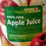Safeway apple juice