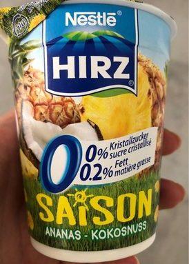 Saison ananas