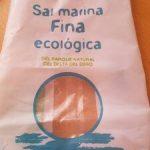Sal marina fina ecológica